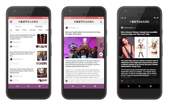 Nextshark Aplikasi Terbaru
