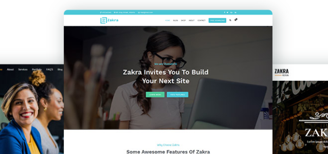 zakra WordPress Theme Free