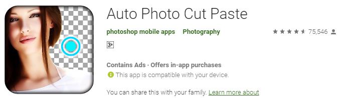 Auto Photo Cut Paste