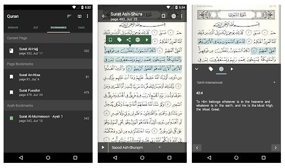 Aplikasi Quran For Android