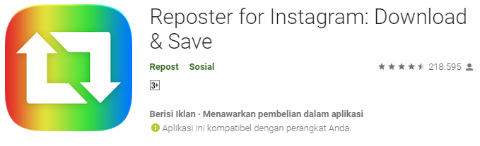 Reposter For Instagram: Download and Save