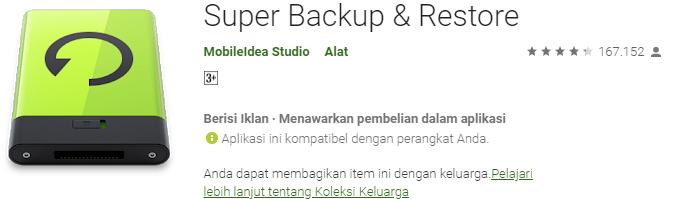 Super Backup & Restore