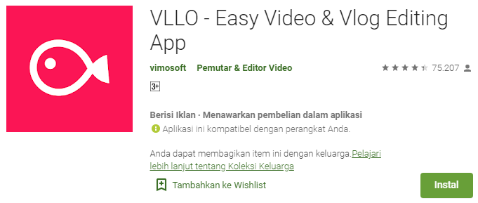 VLLO Video Editing