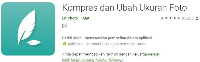 Kompres dan Ubah Ukuran Foto